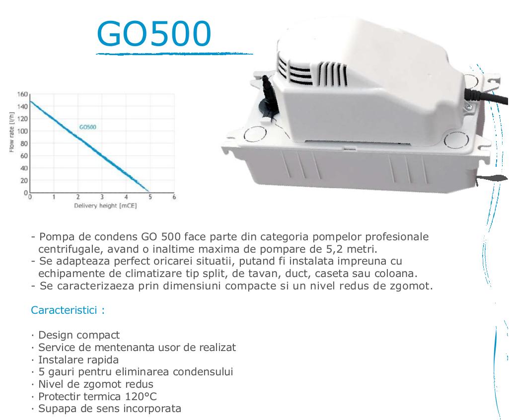 Pompa de condens Gotec GO 500