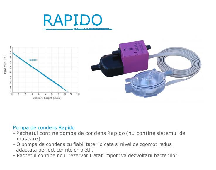 Pompa de condens Gotec - Rapido